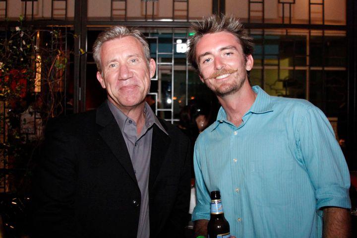 <p>Kupa's Richart Hurter and NAILS senior editor Tim Crowley</p>