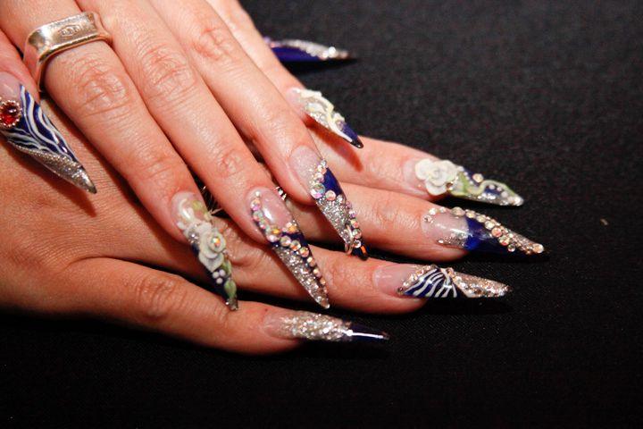 <p>Nail art by Beautiful Nails educator Ann Chang</p>