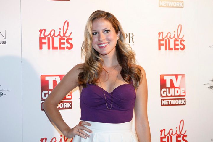 <p>Andrea Feczko, TV host for MTV's Top 20 and AOL's Hollyscoop</p>