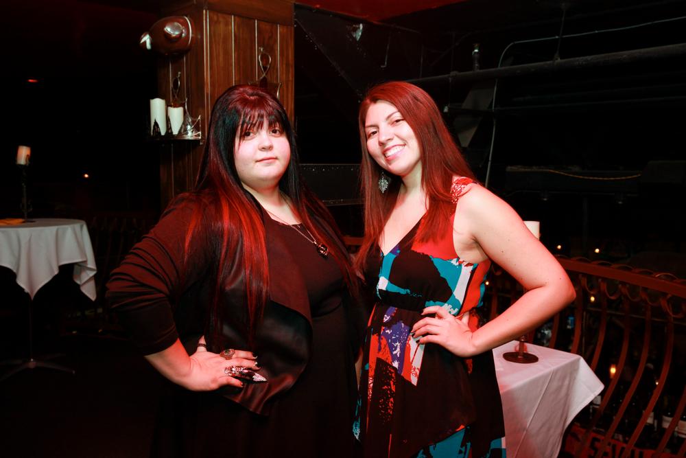 <p>NTNA 1st Runner-up Lexi Martone and NAILS senior editor Beth Livesay</p>