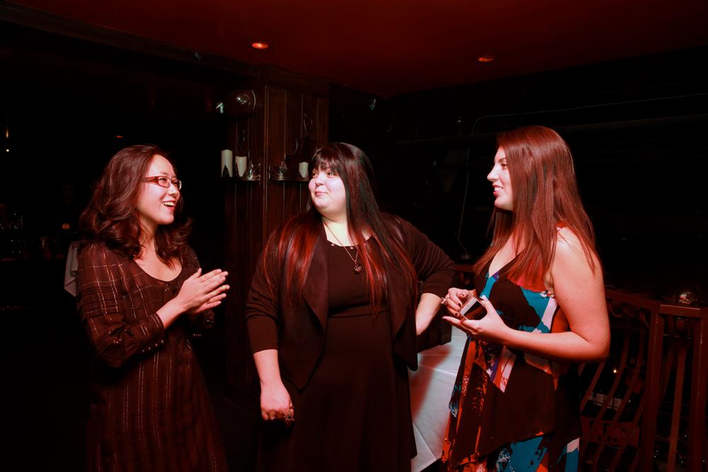 <p>NAILS' Yuiko Sugino, Lexi Martone and NAILS' Beth Livesay</p>