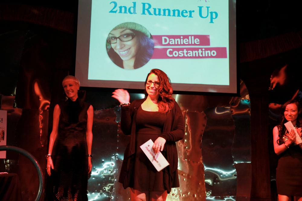 <p>2nd runner-up Danielle Costantino</p>