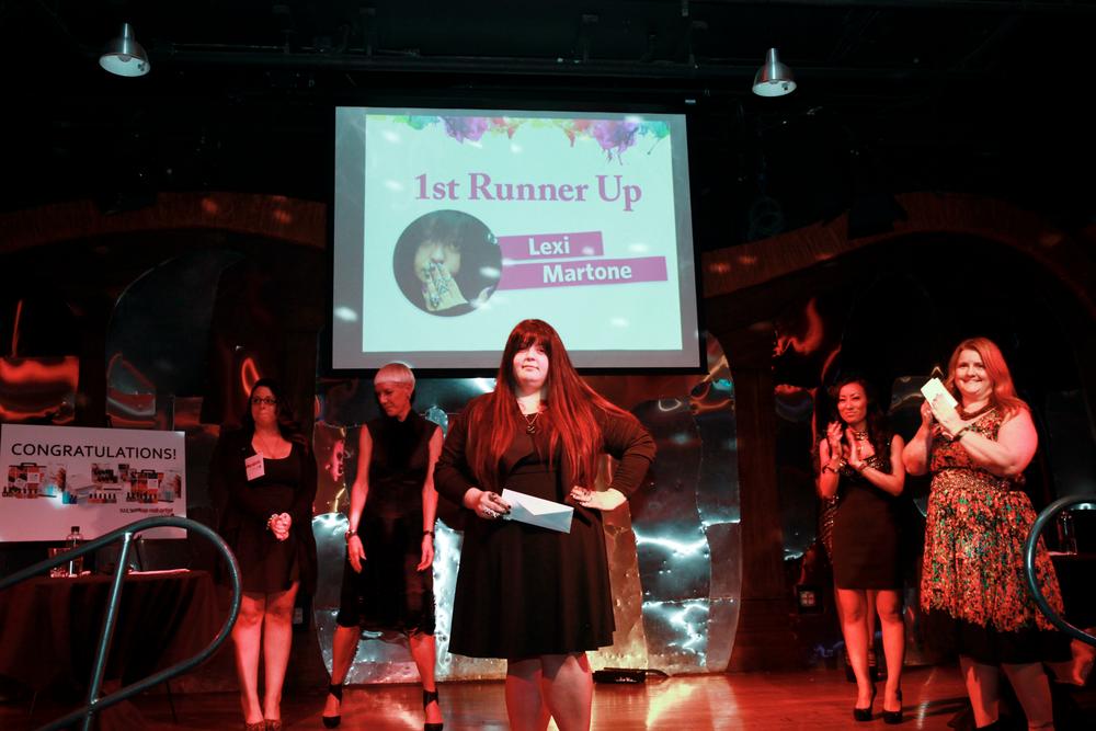 <p>1st runner-up Lexi Martone</p>