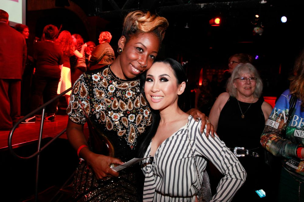 <p>Lavette Cephus with Blossom Beauty Lounge's Cammy Nguyen</p>