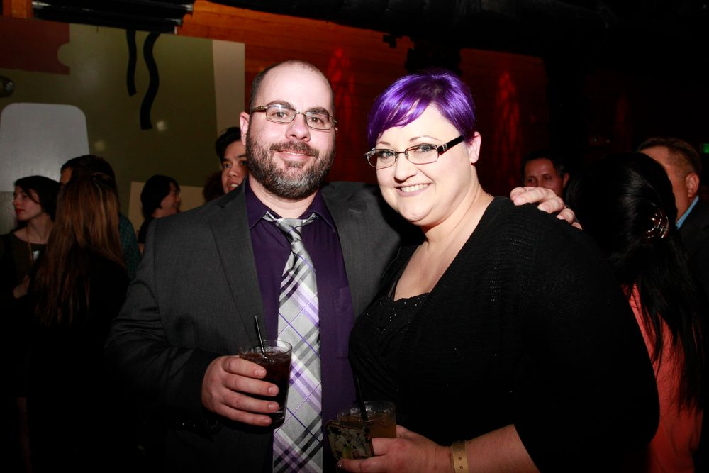 <p>NTNA Top 6 contestant Sherri Traweek and her husband Andrew</p>