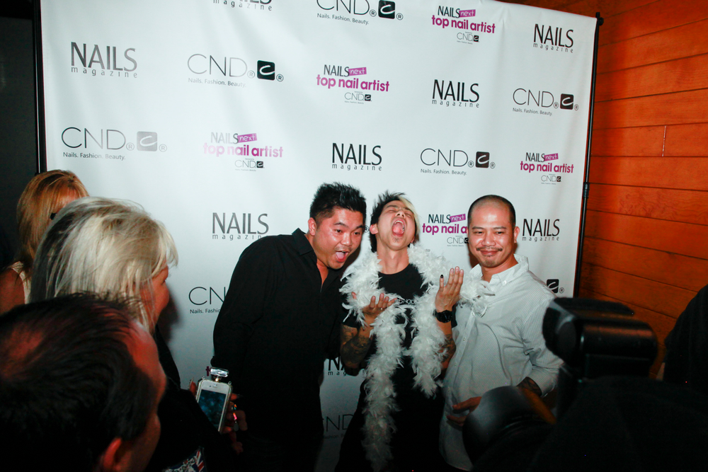 <p>Those crazy Nguyen brothers (and Danny Phung, left)</p>