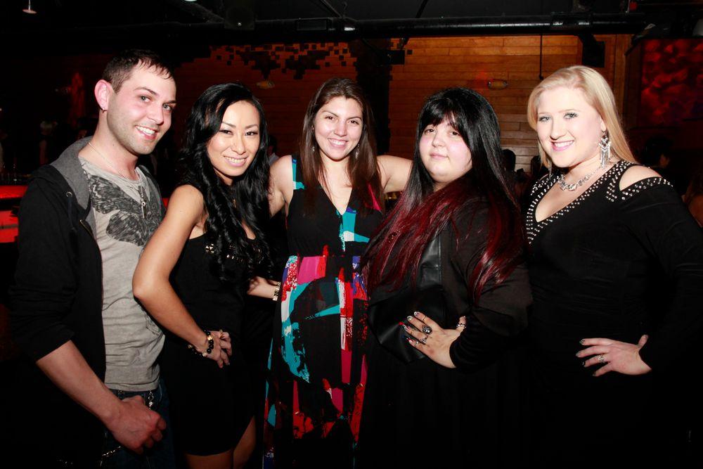 <p>Buddy Sims, Ryoko Garcia, Beth Livesay, Lexi Martone, and Danielle Penn</p>