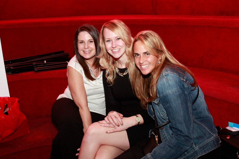 <p>NAILS' Amy Martin, Shannon Rahn, and Mary Baughman</p>