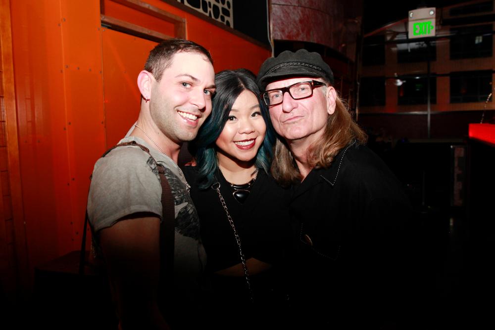 <p>Buddy Sims, Winnie Huang, and Doug Schoon</p>