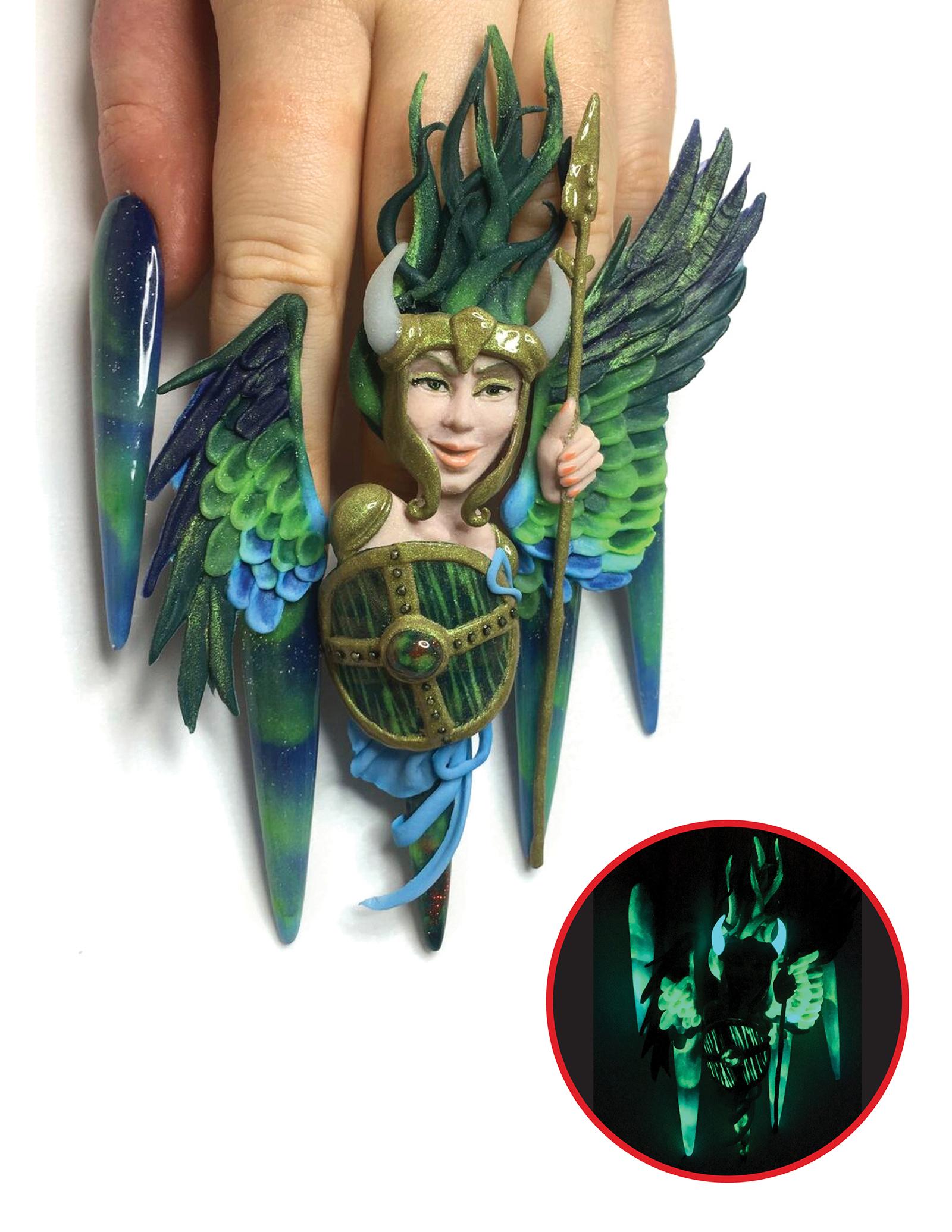 NTNA S. 6 Challenge 5: Northern Lights Nail Art (Nixxi)