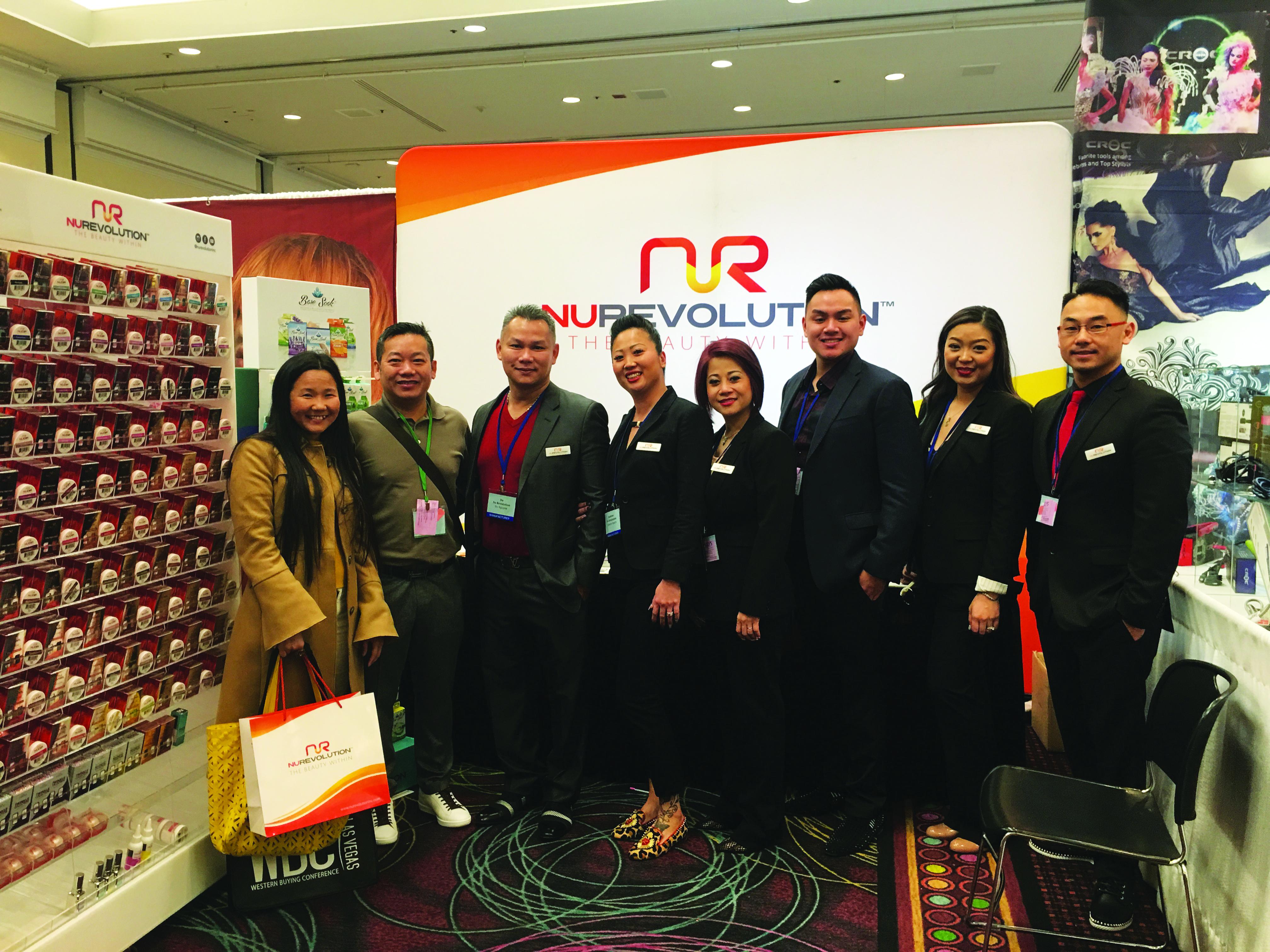 NuRevolution Lần Ðầu Tham Dự Trade Show