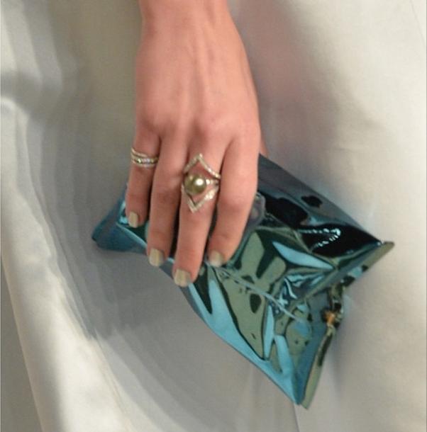 <p>Melissa DeLaCruz used Caption to polish Brooklyn Decker's nails for the Oscar red carpet. Image via @mjay_delacruz</p>