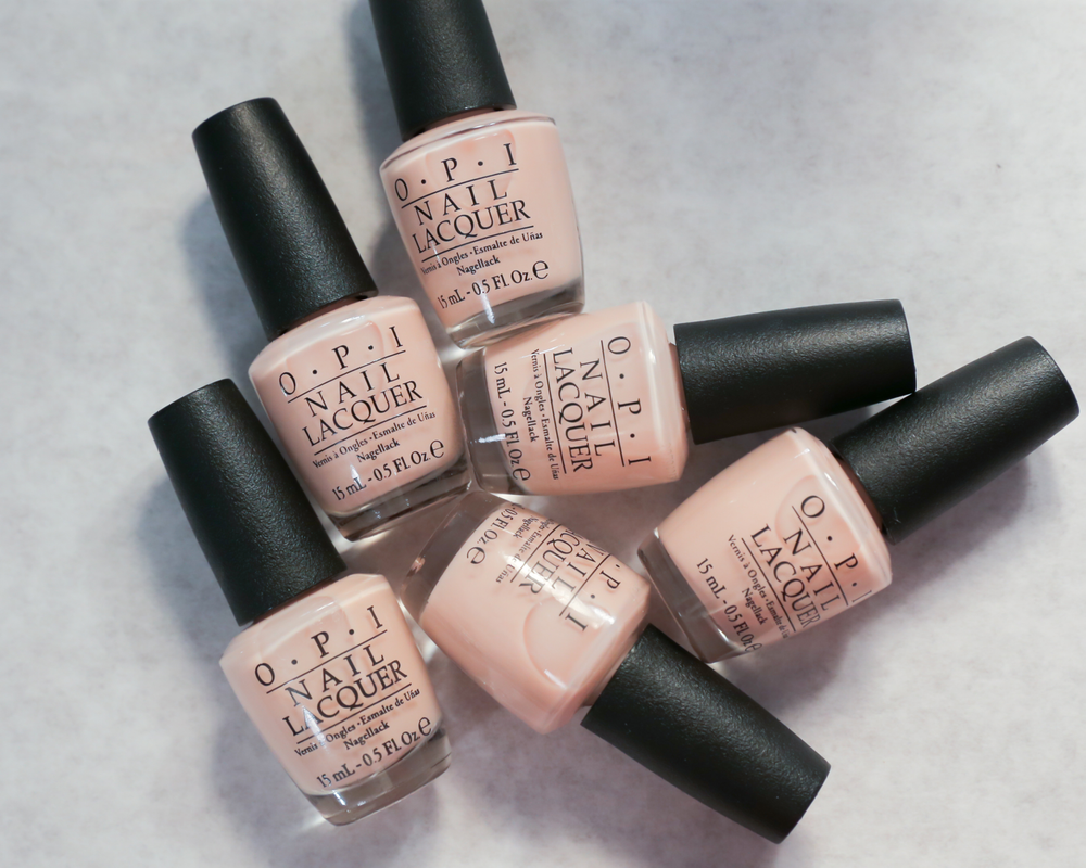 <p>Models&rsquo; nails and toes featured Bubble Bath, a soft, milky pink to complement the show&rsquo;s romantic, feminine fashions.&nbsp;Photo courtesy of OPI.</p>