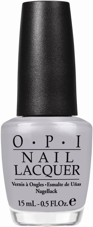 <p><strong>OPI </strong>nail lacquer in My Pointe Exactly is a soft, sheer dove-grey.</p>
