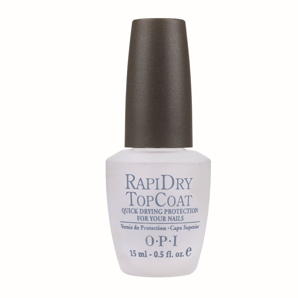 <p><strong>2006 Favorite Top Coat: OPI Products RapiDry Top Coat</strong></p> <p>2nd: Seche Vite<br />3rd: Creative Nail Design Super Shiney<br />4th: INM Out The Door Top Coat<br />5th: Almell Poshe Super Fast Drying Topcoat</p>