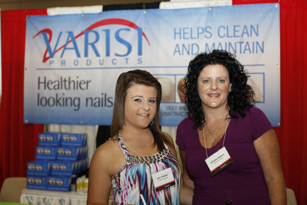 <p>Varisi&rsquo;s Hailey and Virginia Ramsay promoted some of Varisi&rsquo;s nail and feet products including creamy sugar scrubs, cracked heel relief, and disinfecting cuticle solution.</p>