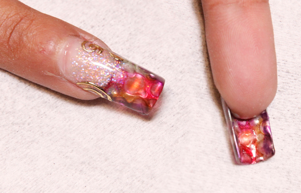 <p>Nails by Alejandro Casta&ntilde;eda, based in Mexico City, educator for Odyssey Nail Systems using VPP Hydrogel.</p>