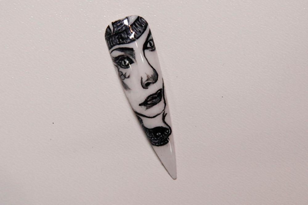 <p>Nail art by Lefty Nguyen, IBD educator</p>
