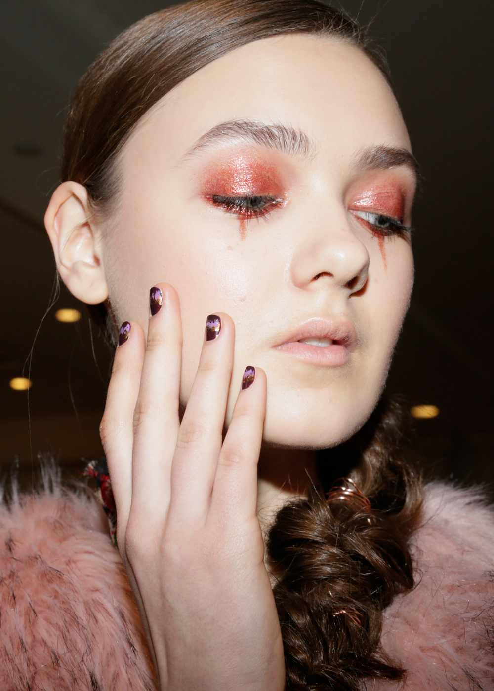 <p>Essie for Christian Siriano. <em>Carissa Lancaster @carissalancaster for The Nailscape</em></p>
