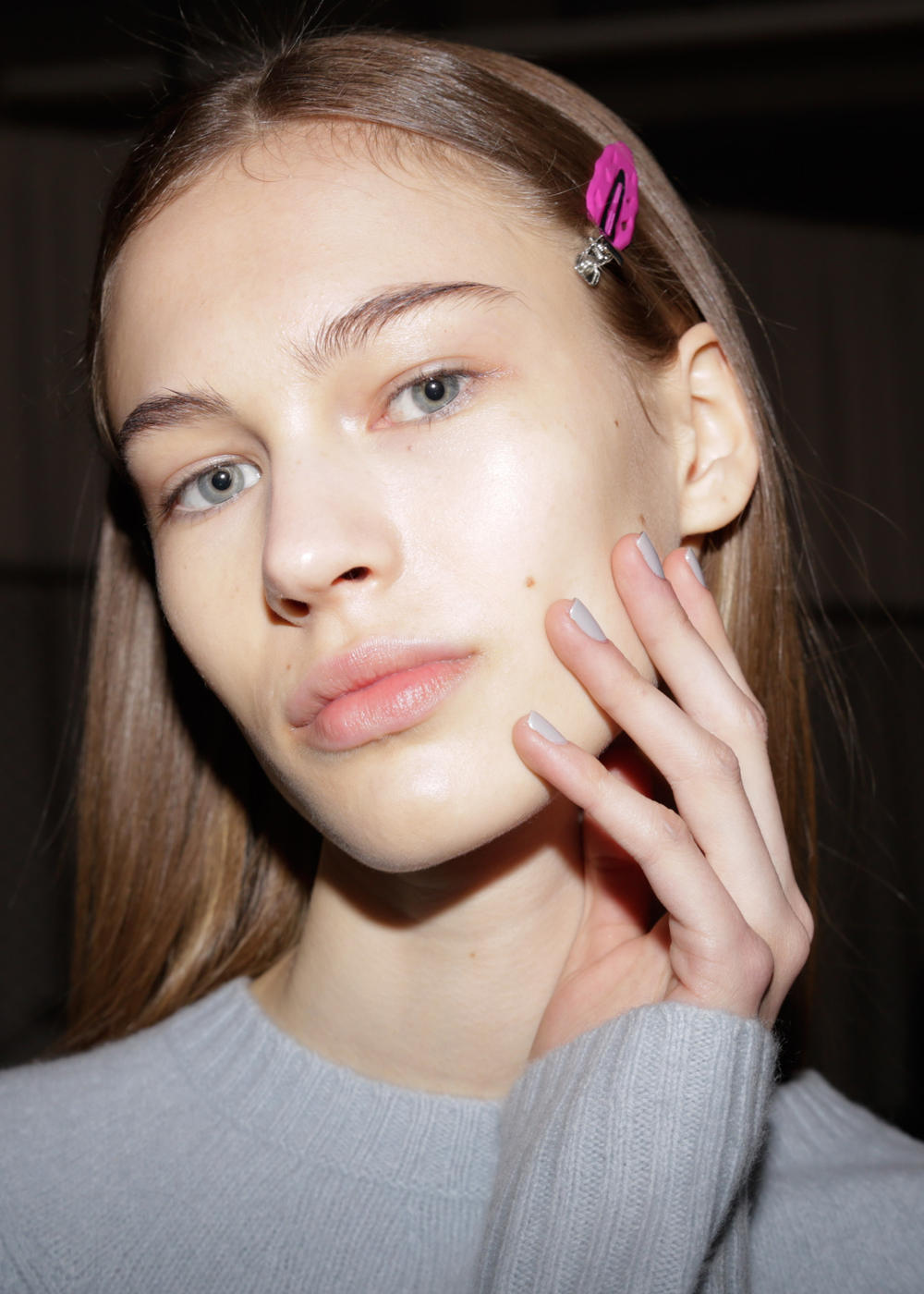 <p>China Glaze for Proenza Schouler. <em>Carissa Lancaster @carissalancaster for The Nailscape</em></p>