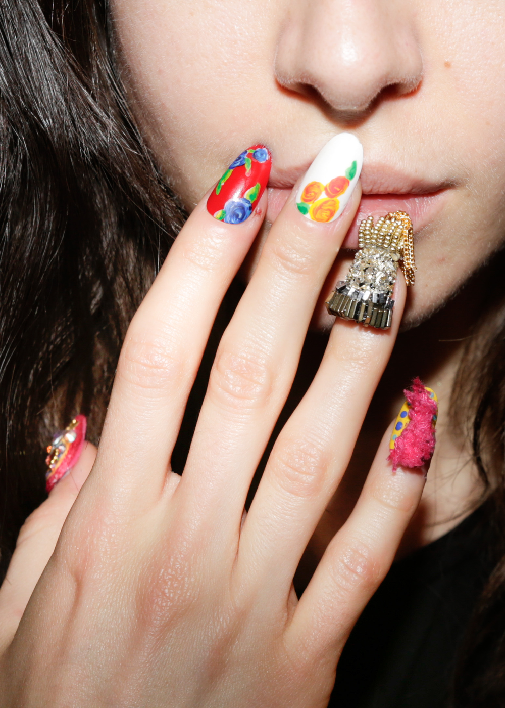 <p>CND for Libertine. <em>Carissa Lancaster @carissalancaster for The Nailscape</em></p>