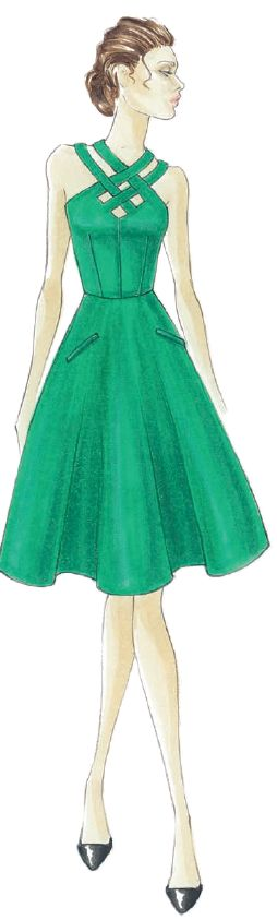 <p><strong>Emerald</strong>, a lively, radiant green, inspires insight and clarity while enhancing our sense of well-being. <em>Illustration by Barbara Tfank. Originally appeared in The Pantone Fashion Color Report Spring 2013.</em></p>