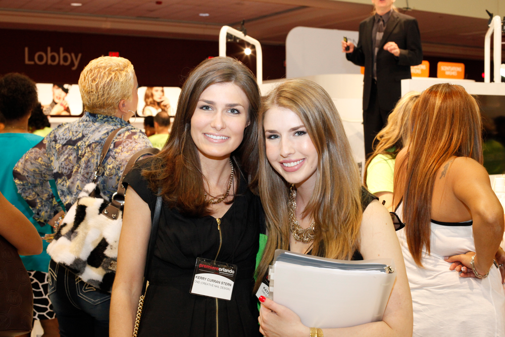 <p>CND PR sisters Holly and Laura Merzetti</p>
