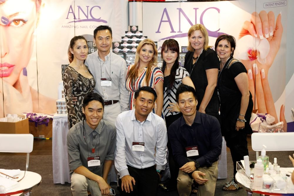 <p>The Amazing Nail Concepts team</p>