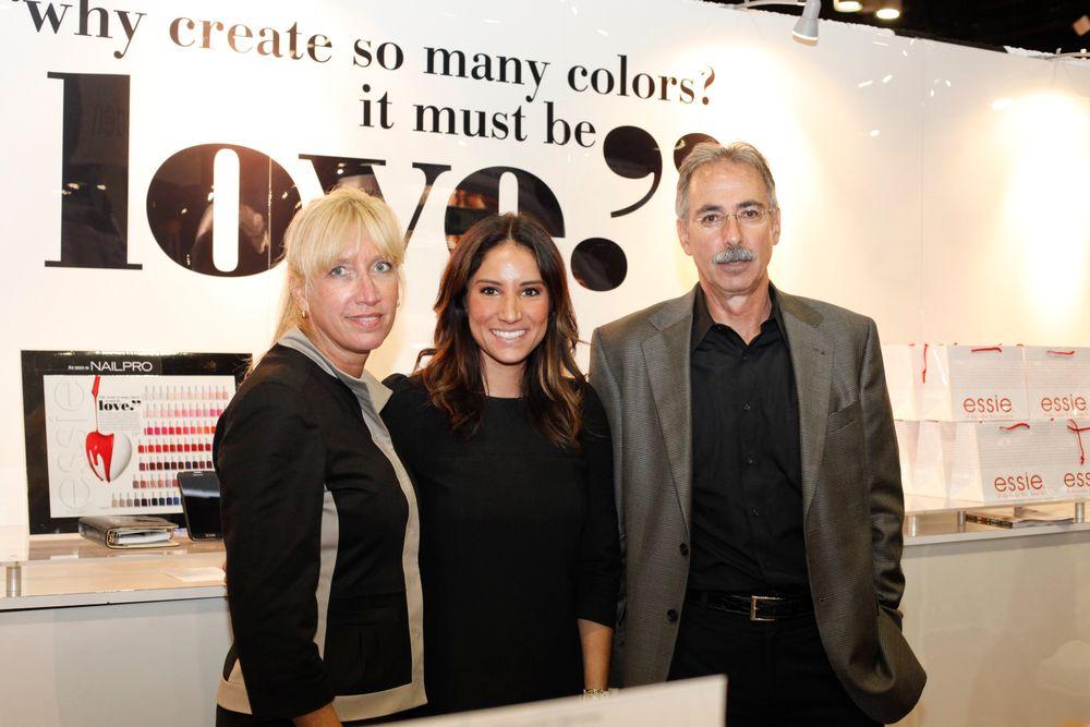 <p>The Essie team consisted of Suzie Manofsky, Stepanie Hernandez, and Harvey Perlowitz.</p>