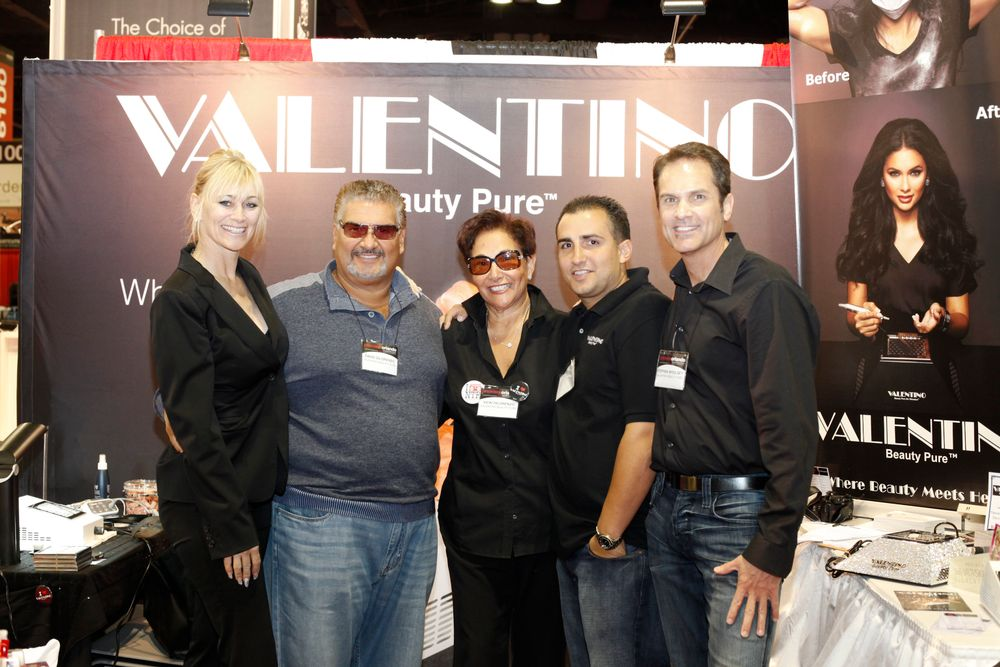 <p>Melodee Lange-Christensen joins the Valentino Beauty Pure team with David and Vicki Dilorenzo, David Anthony, and Stephen Whoolsey.</p>