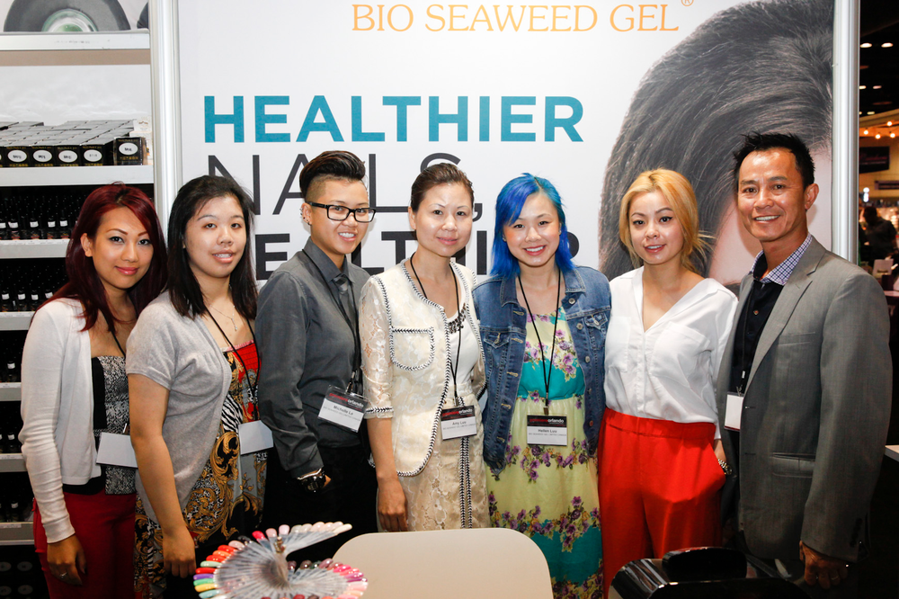 <p>Bio Seaweed Gel&rsquo;s Trang Vu, Elaine Giang, Michelle Le, Amy Luu, Hellen Luu, Sarah Luu, and Michael Luu</p>