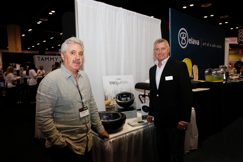 <p>Belava&rsquo;s Vladimir Zolotnik and Stephen Pirtle, Belava&rsquo;s new VP of sales</p>
