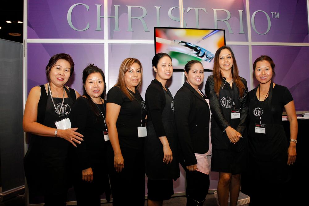 <p>Christrio&rsquo;s Hong Nguyen, Ann Nguyen, Anahi Romero, My Anh Vo, Ylianne Maldonado, Veronica Vargas, and Mimi Tritachaigoon</p>