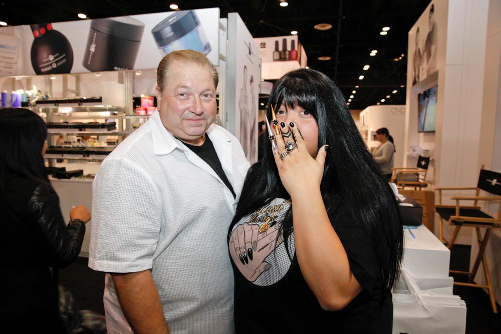 <p>NTNA Season 2 finalist Lexi Martone with her dad.</p>