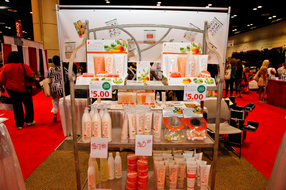 <p>California Mango offered an extensive line of products at the show.</p>