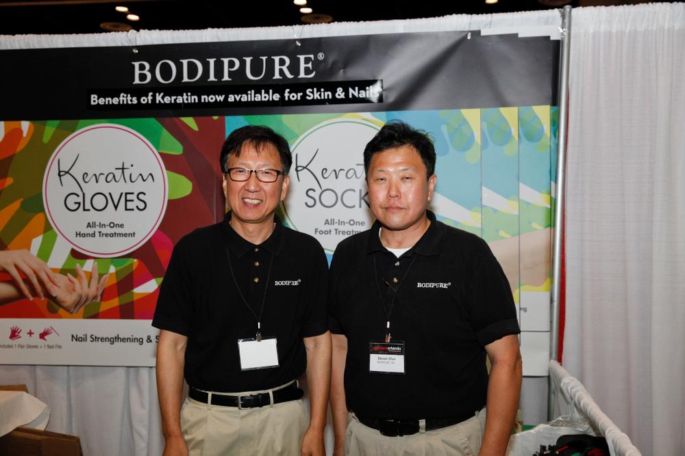 <p>Bodipure's Jonathan Yoo and Steven Choi</p>