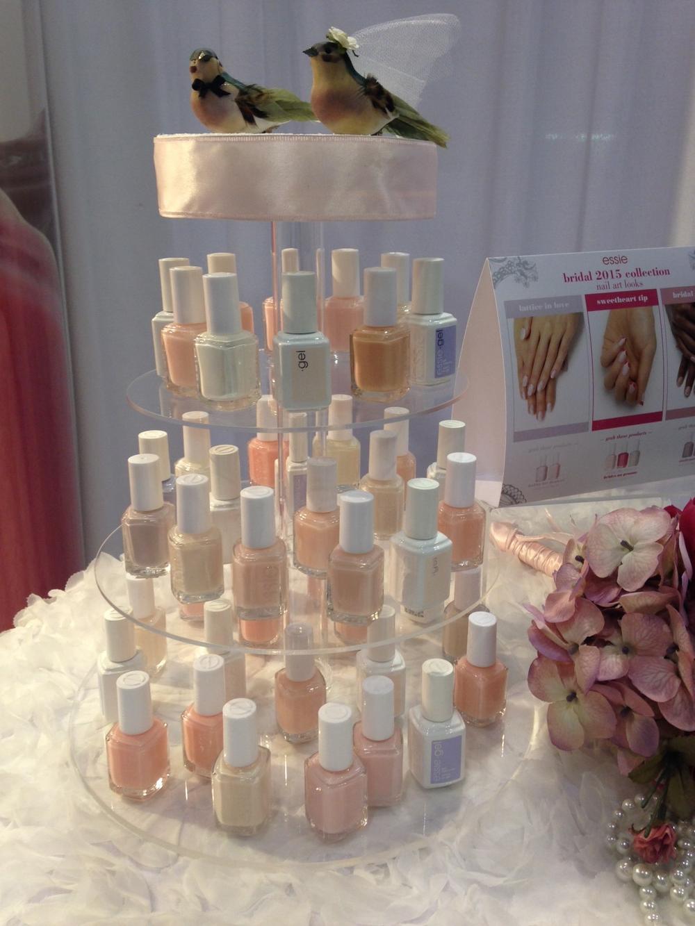 <p>Essie's Bridal 2015 collection</p>