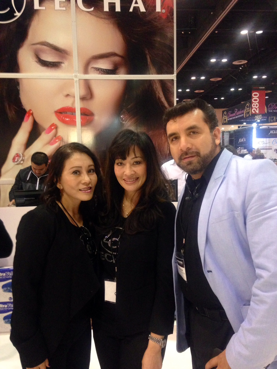 <p>Hanna Do, Jackie Truong, and Daniel Buenabad, LeChat</p>