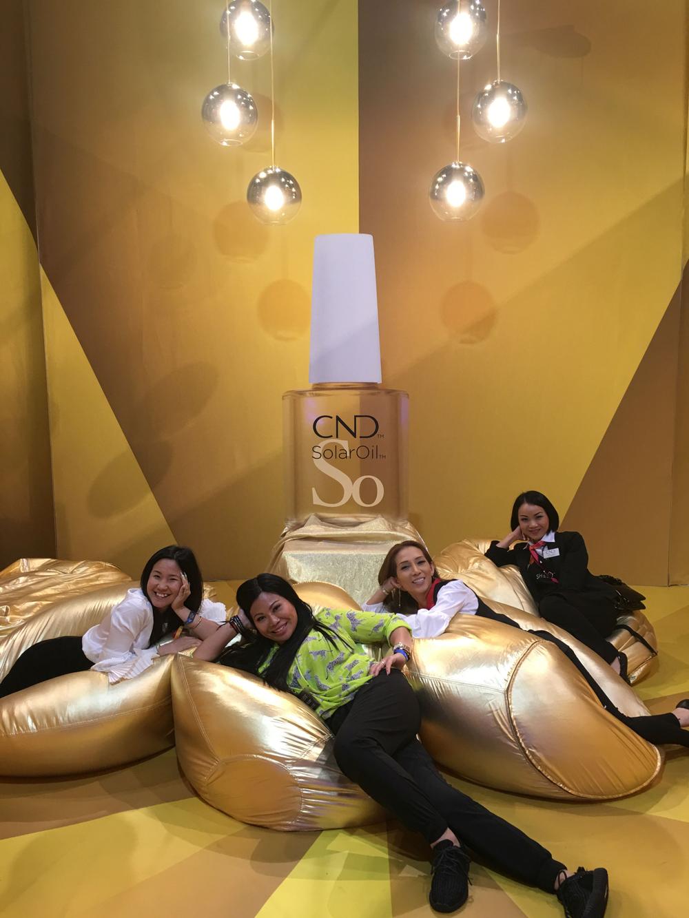 <p>CND solar oil room</p>