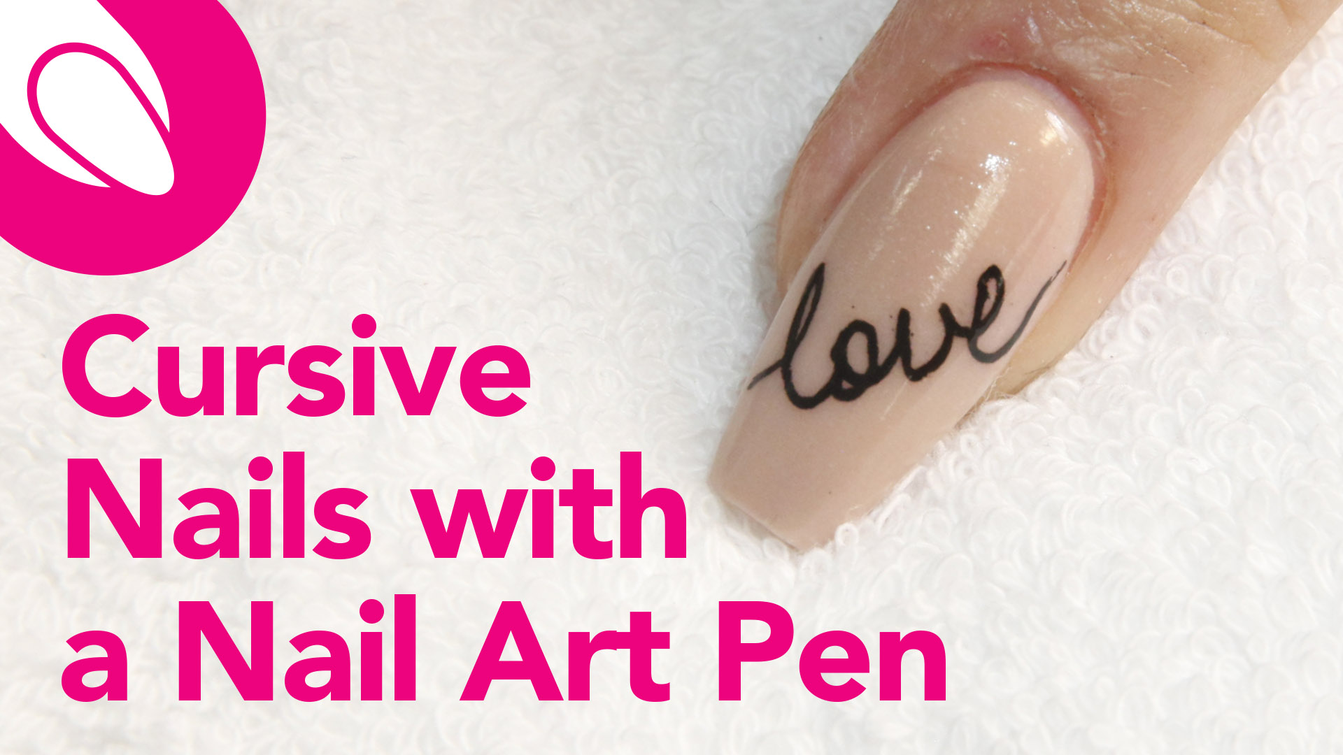 Quick Nail Tips: Write Cursive Love Notes with the Cina Nail Art Pen