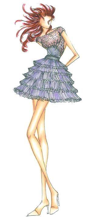 <p><strong>Bellflower</strong>, a distinct ornamental purple, exudes uniqueness and creativity.</p> <p><em>Illustration by </em><em>Rafael Cennamo</em><em>. Originally appeared in The Pantone Fashion Color Report Spring 2012.</em></p>