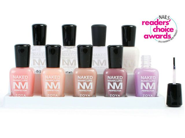 <p><strong>8. Zoya</strong>: Naked Manicure&nbsp;</p>