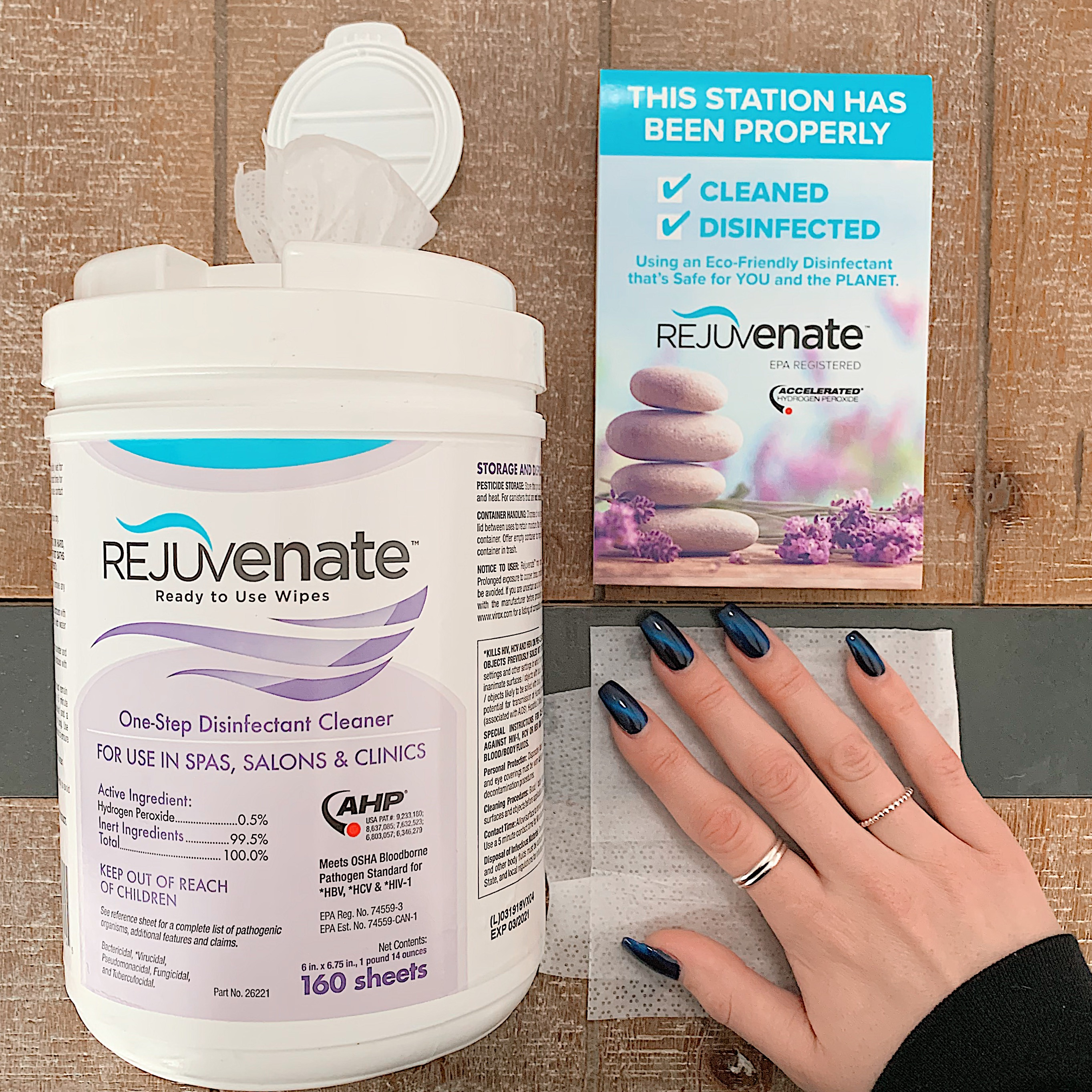 Win It Wednesday: Rejuvenate Disinfectant Wipes