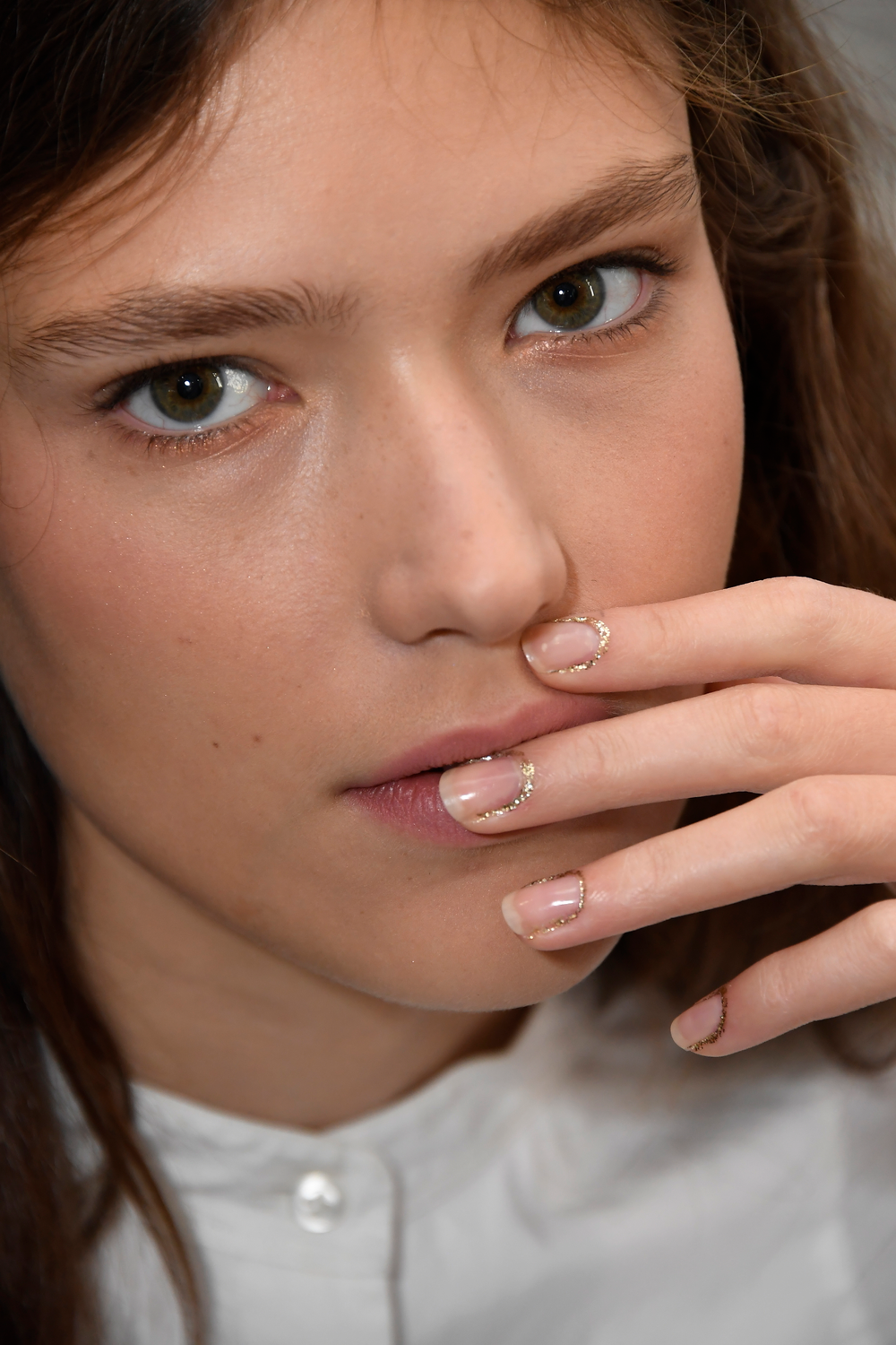 <p>The vision for nails at Rodarte was cuticle jewelry by Morgan Taylor.</p> <p>Photo credit: Courtesy of Morgan Taylor Lacquer</p>