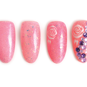 Nail Art Studio: Rosy Glow