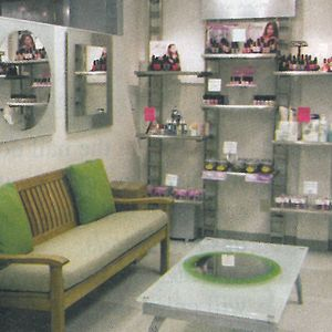 Orly owner and CEO Jeff Pink went for a warm, inviting yet modern atmosphere. The waiting area...