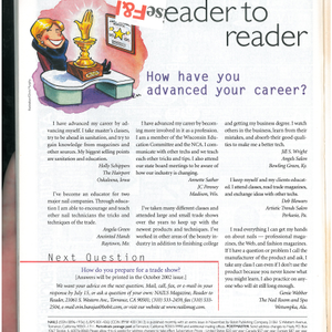 Reader to Reader: How Have You Advanced Your Career?