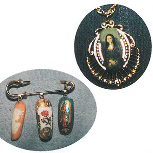 Since Weldon's Mona Lisa pendant and nail art pin aroused so much interest at the NAILS Dearborn...