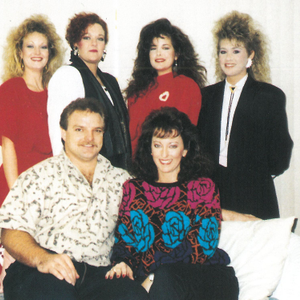 Top row from left: Nail technicians Penny Embry, Louise Malone, Cherie Huet, and Tisha Taylor....