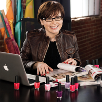 OPI's Co-Founder and Brand Ambassador Suzi Weiss-Fischmann Looks Ahead to 2017